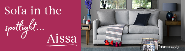 Sofa in the spotlight - Aissa