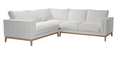 Costello With Wooden Plinth Corner Sofa