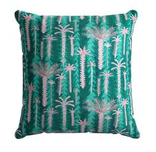 Lucy Tiffney Palm Tree Scatter Cushion