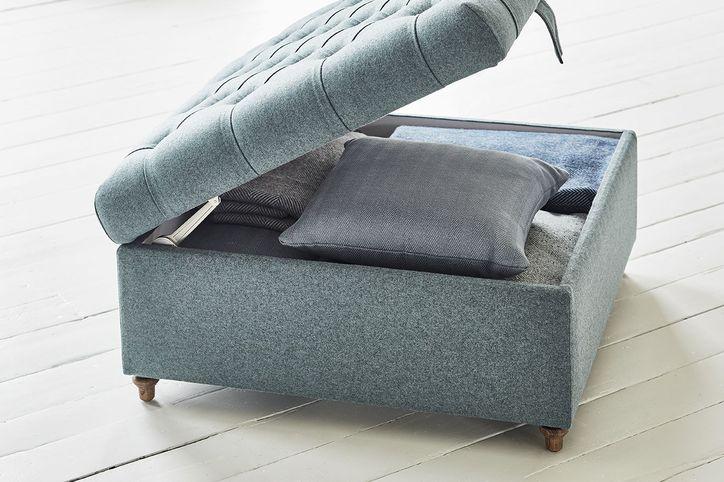 Valentin Storage Footstool Footstools Accessories