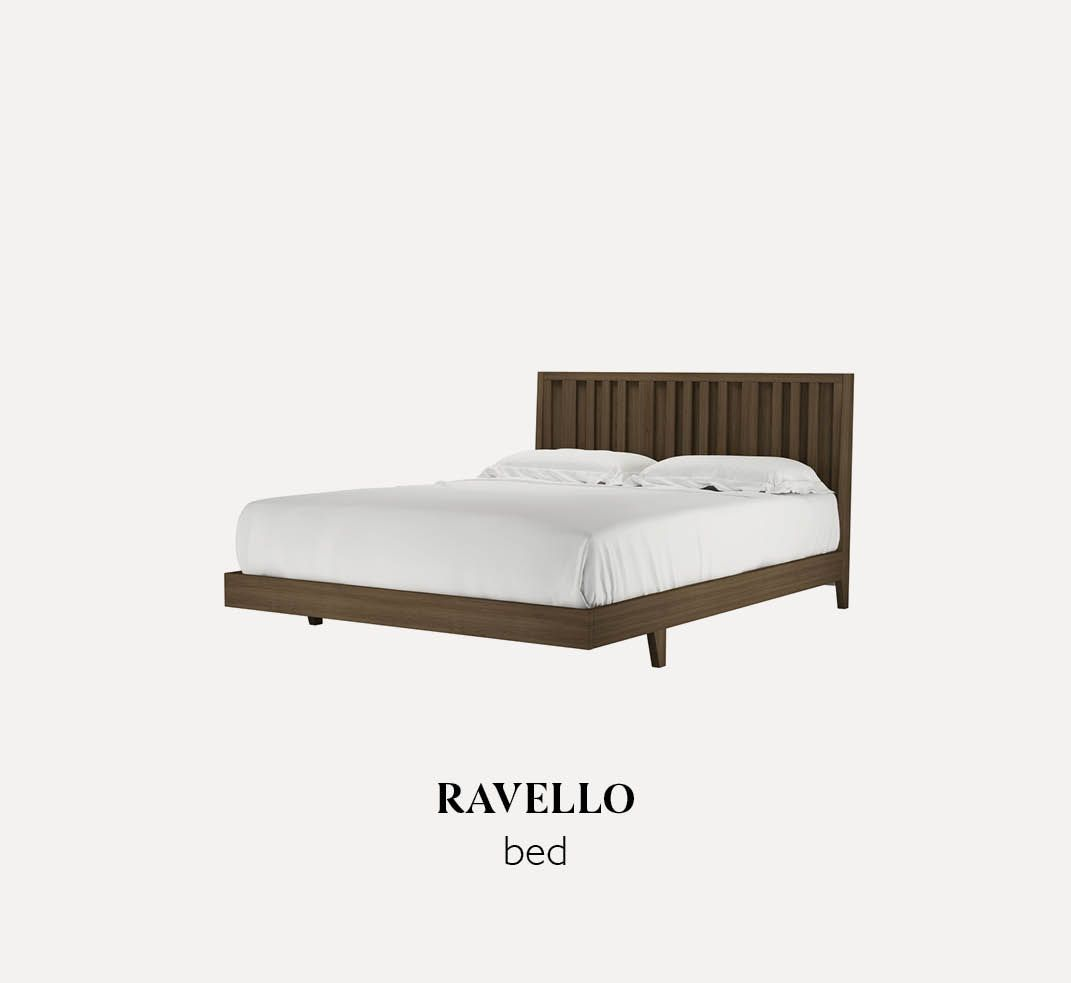 Ravello wooden bed