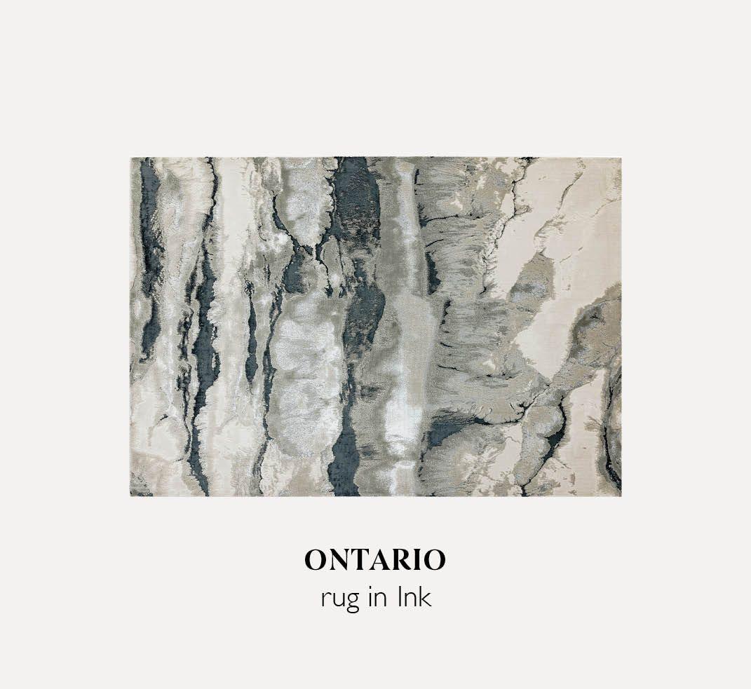 Ontario Rug in Ink
