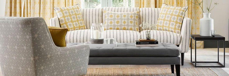 Custom Fabrics Sofa