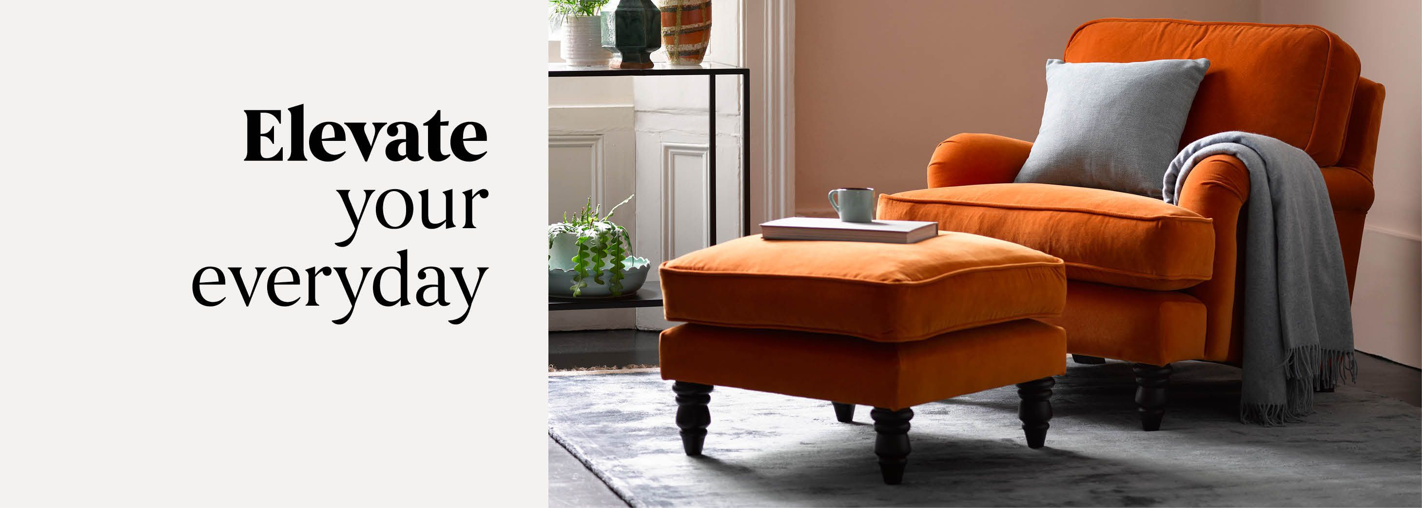 Elevate your everyday - Shop Footstools