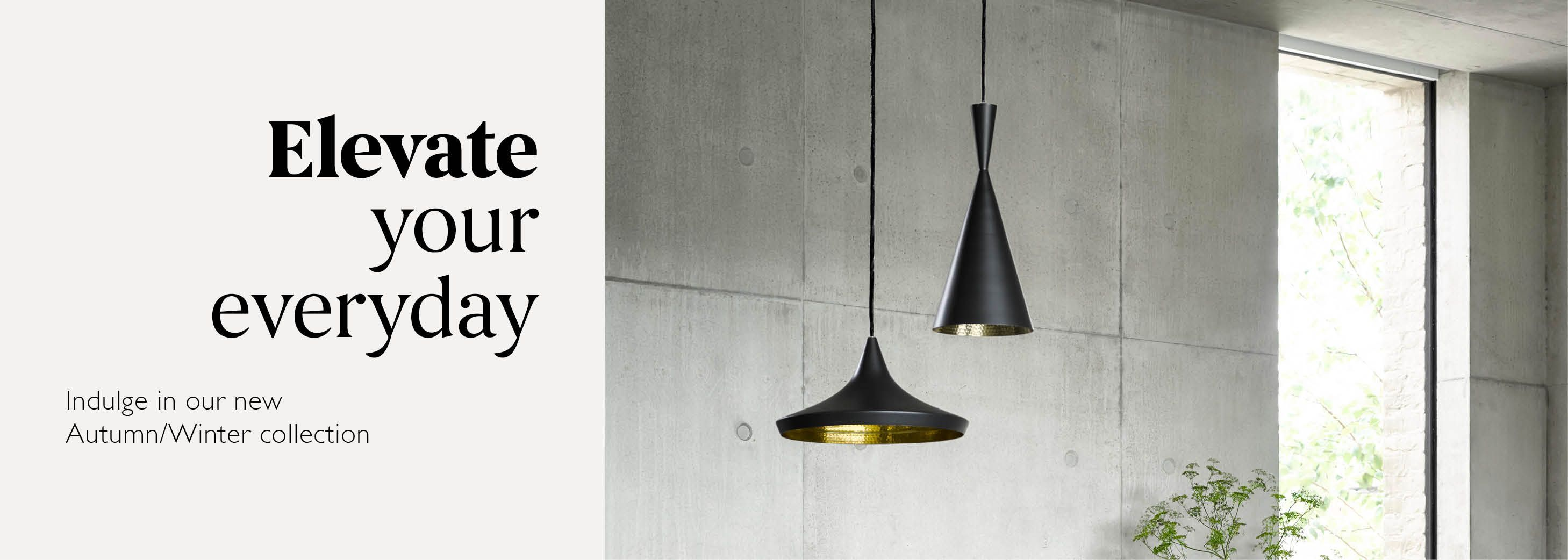 Elevate your everyday - Shop Lighting