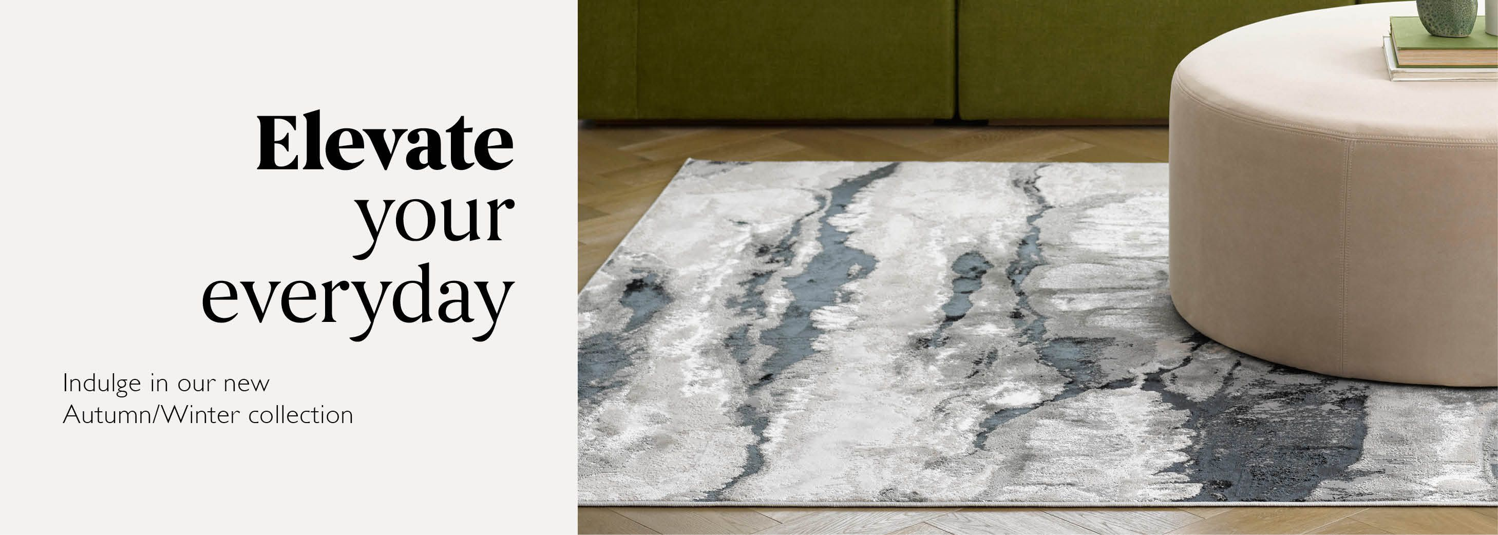 Elevate your everyday - Shop Rugs