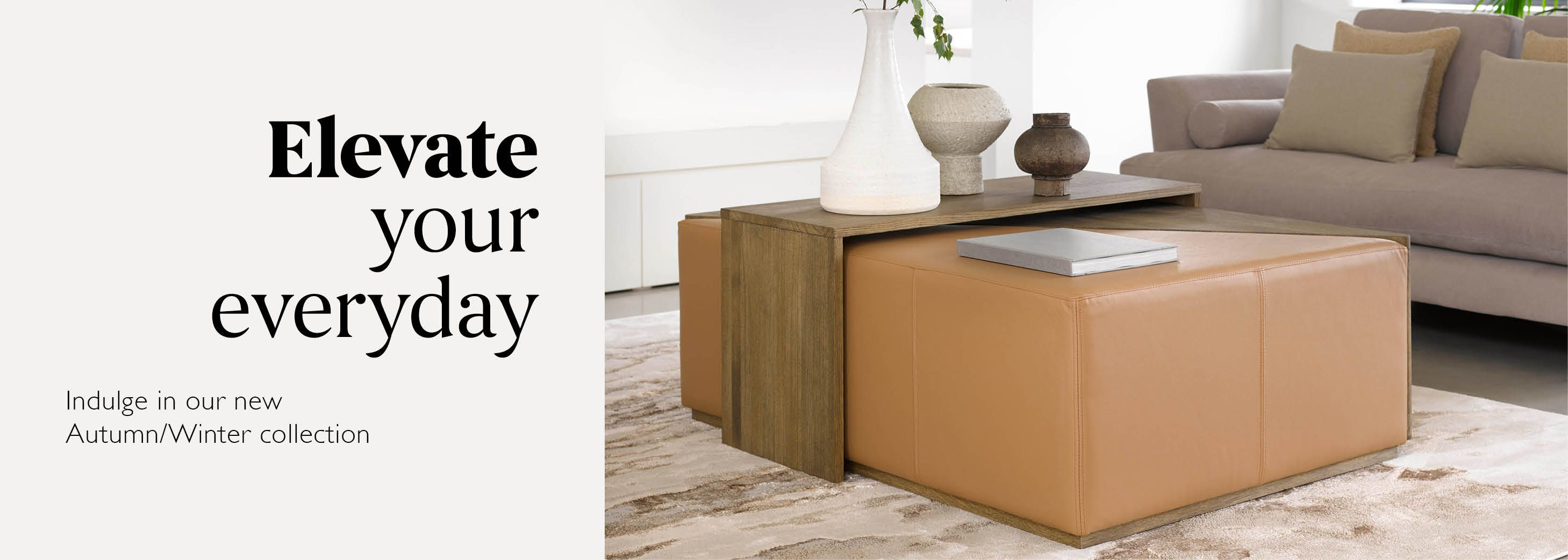 Elevate your everyday - Shop Accent Tables